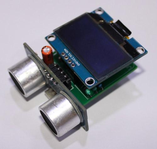 Конструкция цифрового измерителя расстояния на основе микроконтроллера ATtiny85